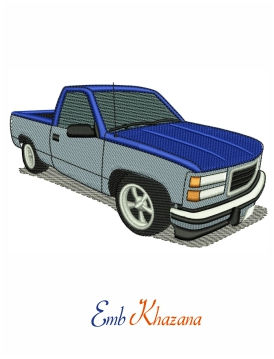 gmc sierra embroidery design