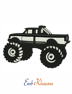 jeep car embroidery design
