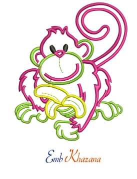 monkey outline design