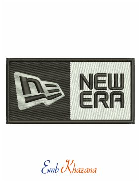 New Era Logo Embroidery Design