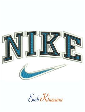 Nike Swoosh Machine Embroidery Design