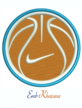 Nike Sport Logo Machine Embroidery design