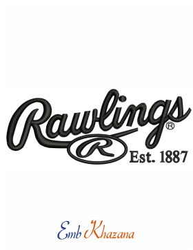 Rawlings Logo Embroidery Design