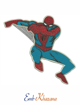 spider-man embroidery format download