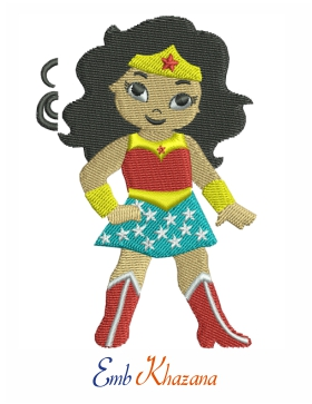 Chibi wonder women