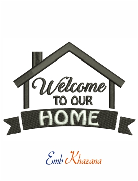 Welcome to our home machine embroidery design