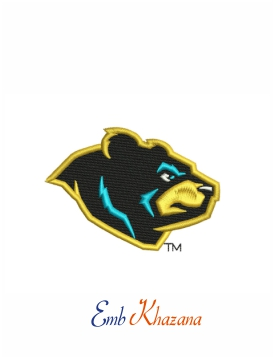 west virginia black bears logo
